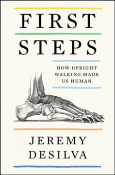 First steps : how upright walking made us human by DeSilva, Jeremy M.