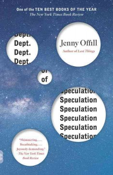 Dept. of speculation by Offill, Jenny