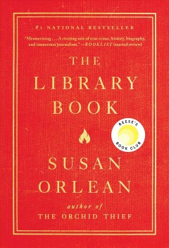 The library book by Orlean, Susan