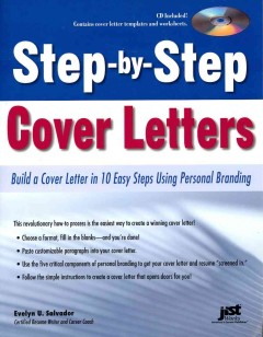 Step-by-step cover letters : build a cover letter in 10 easy steps using personal branding by Salvador, Evelyn U.
