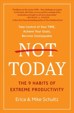 Not today : the 9 habits of extreme productivity by Schultz, Erica